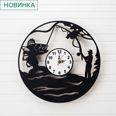 """801/045 Часы """"Рыбак"""" d-35см"""