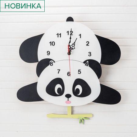 """801/042 Часы с маятником""""Панда"""" 42*h-42см"""