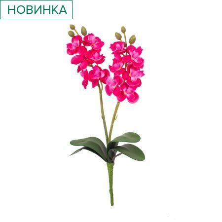 7141/0455/15 Орхидея мини *2  h-25см (малинов.)