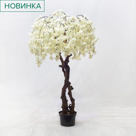 190/2К/ОС/191-1 Сакура королевская (белая) (h 190 d 130см)