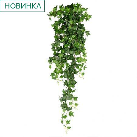 7144/9105-13 Плющ хедера (зеленый) 6ч, h100см