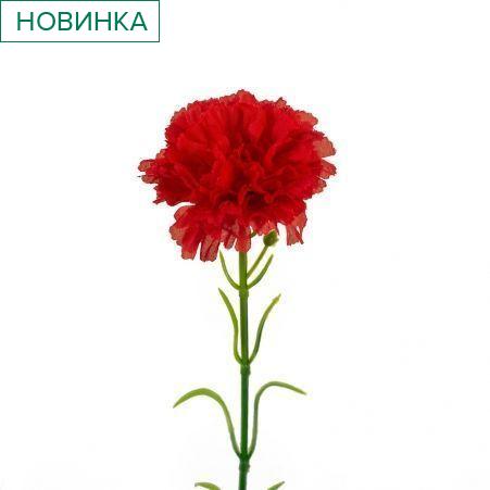 7141/9149-2/2Р Гвоздика (красная) h 50см