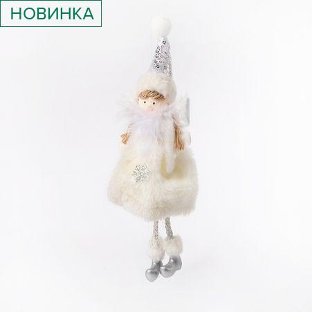 11/0474С Подвес Ангел НГ текстильный h15см (12шт/уп)