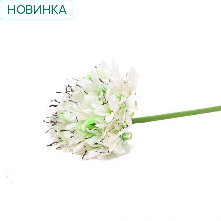 401/5017-23C Аллиум h70см (белый)