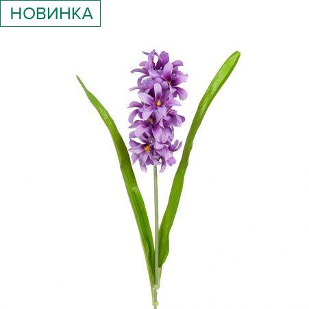 401/0184-8В Гиацинт h59см (сиреневый)