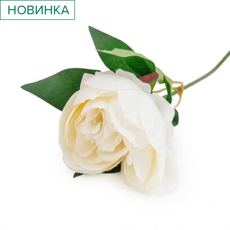 401/0474-23В Пион h51см (белый)