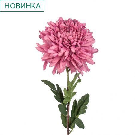 401/0742-8В Хризантема h85см (пыльно-сиреневый)