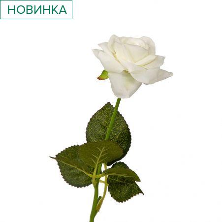 401/0325-23В Роза *1 h39см (белая)