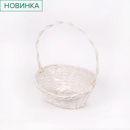 20/0152/1О Корзина плетеная овал большая (38*31*h19)