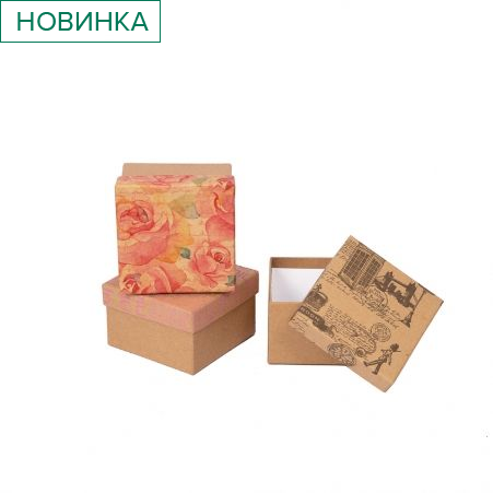 ККК13*13*8 Коробка квадратная крафт