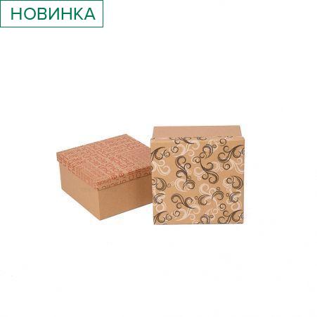ККК20х20х10 Коробка квадратная Крафт