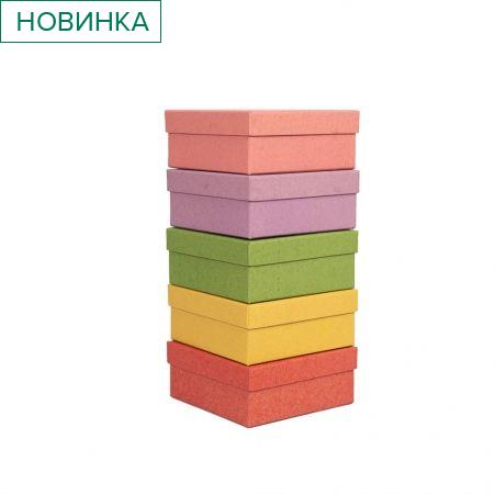 ККТ13*13*8 Коробка квадратная Крафт тонированная