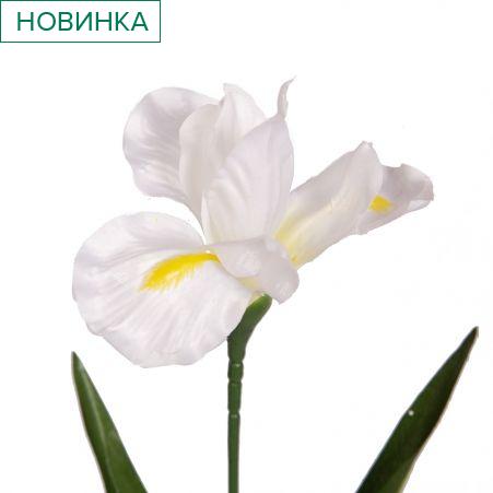 401/0014/1-23L Ирис h57см (белый)