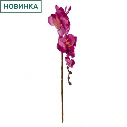 401/0238-8В Фрезия сатиновая h50+17см (сиреневая)