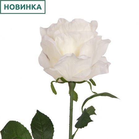 401/5402/23К Роза одиночная h78см (белый)