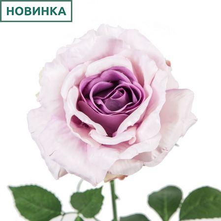 401/5402/8К Роза одиночная h78см (сиреневый)