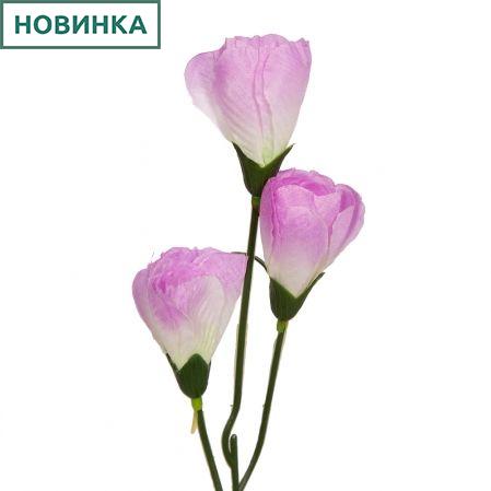 401/0643-8В Крокус h42см (сиреневый)(3гол)