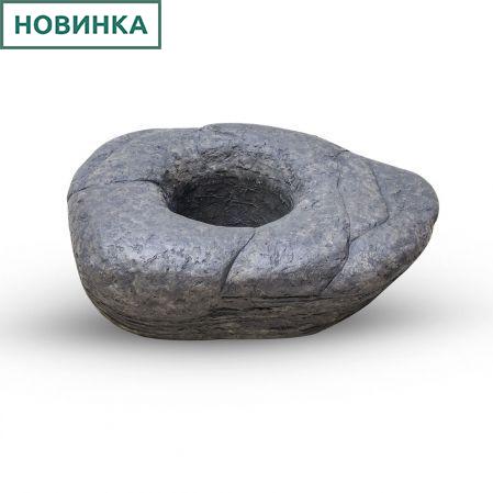 Кашпо-камень 59*45*h16,5см