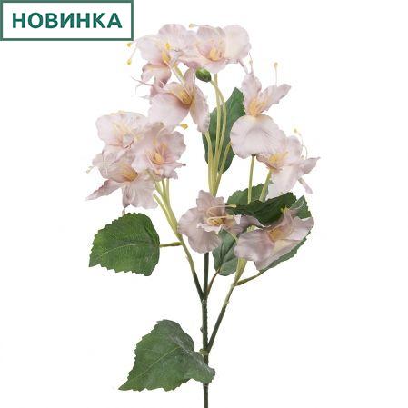 7141/А2790-02/5 Цветок декоративный светл.-розовый h72см(222)