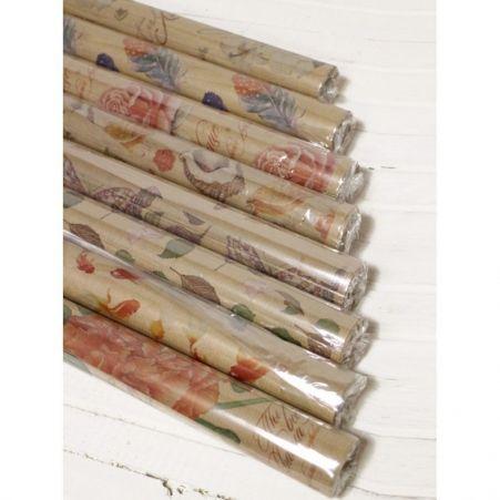 Бумага КРАФТ цветочная водостойкая 0,84*10м