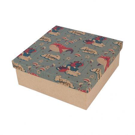 ККК22*22*8,5 Коробка квадр. (крафт)