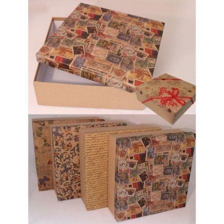 ККК27*27*9 Коробка квадр. (крафт)