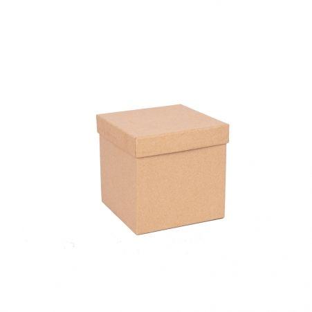 ККО14*14*14 Коробка квадр. однотон. крафт.