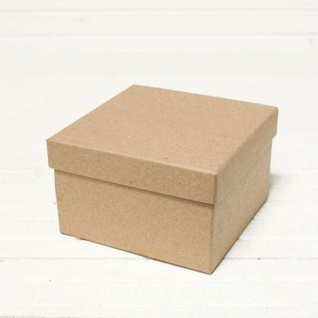 ККО16,5*16,5*16,5 Коробка квадр. однотон. крафт.