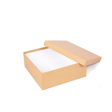 ККО22*22*8,5 Коробка квадр. однотон. крафт.