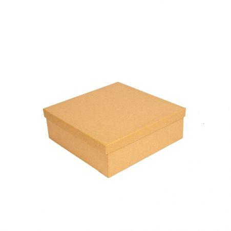 ККО27*27*9 Коробка квадр. однотон. крафт.