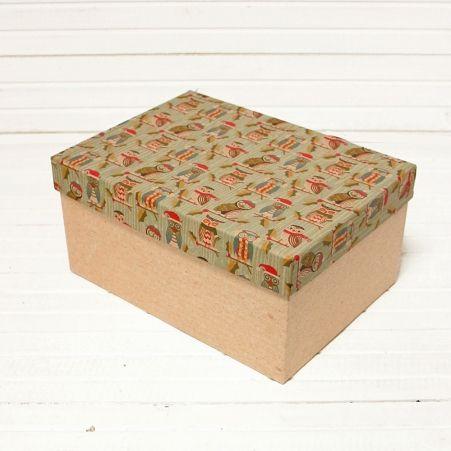 КПК25*18*12 Коробка прямоуг. Крафт
