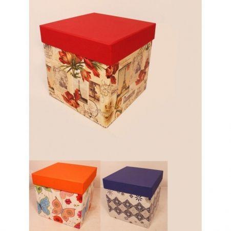 ККИ16,5*16,5*16,5 Коробка квадр. комбинир.(имитлин
