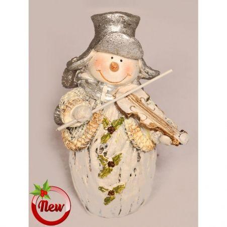 11/3076C(Sale) Снеговик (14,5см)