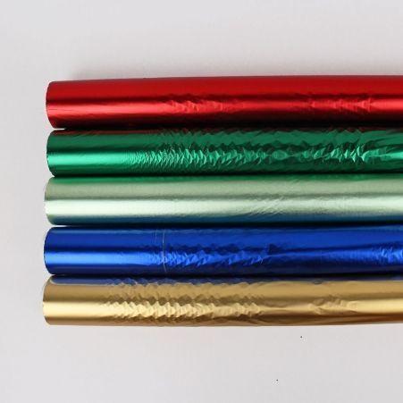 Полисилк пленка металлиз.одностор. (в рулоне 50м)