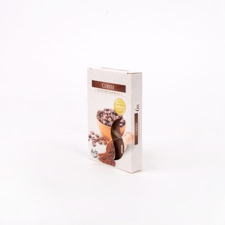 Свеча арома, гильза (6 шт.) Р15-89, кофе