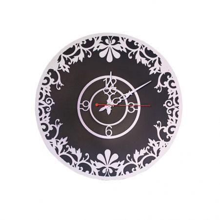 """801/012-1(Sale) Часы d-40 (Графит)(Коллекция """"Кружева"""")"""