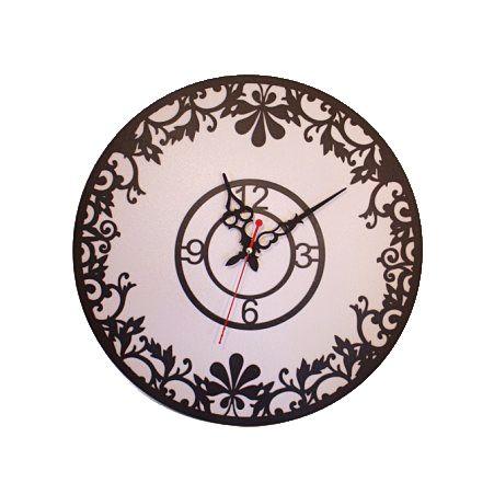 "801/012-2(Sale) Часы d-40 (Топлен.молоко)(Коллекция ""Кружева"")"