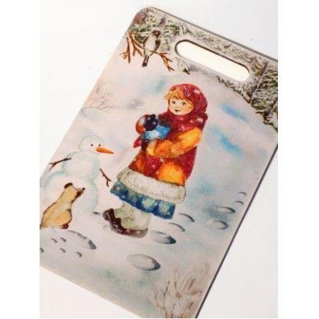 "904/001-5(Sale) Интер. доска НГ ""Зимние забавы"""