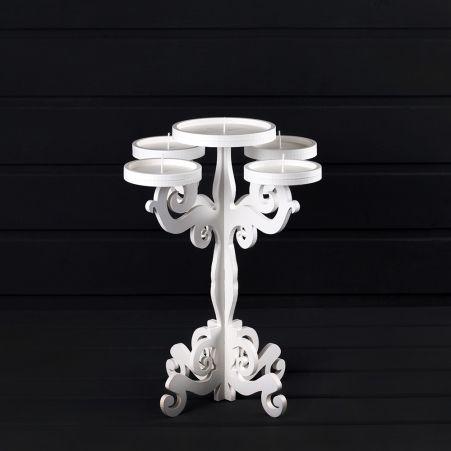 905/04(Sale) Подсвечник* 5  (д/форм. свечей), h30см