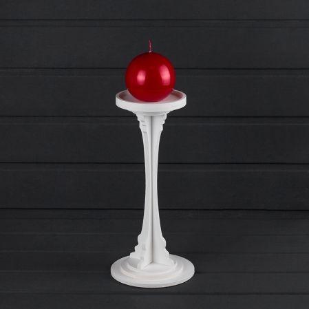 905/08(Sale) Подсвечник *1 (д/форм. свечи d-10см) h30см