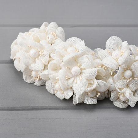 31/0031P(Sale) Букетик свадебный белый *6
