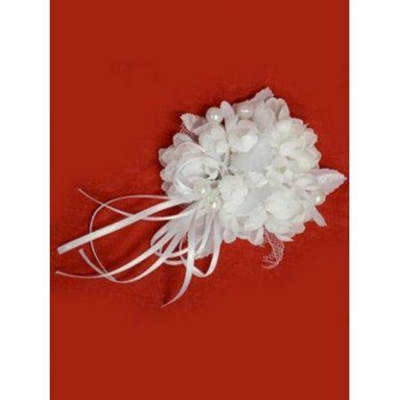 31/0044В(Sale) Насвечник свадебный с бусинами