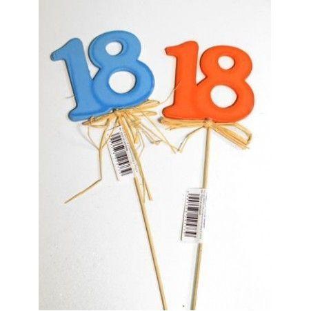 """31/0081Р(Sale) Цифра на пике """"18"""""""