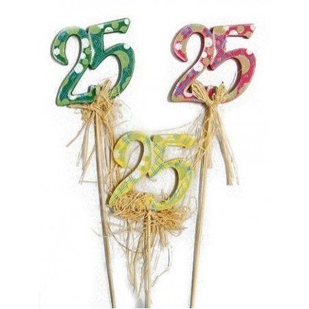"""31/0083Р(Sale) Цифра на пике """"25"""""""