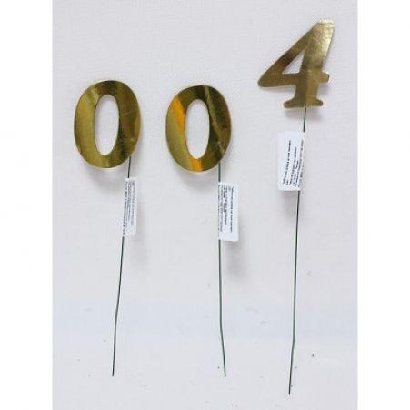 Табличка Цифра на пике одинарн. металл.(Sale)
