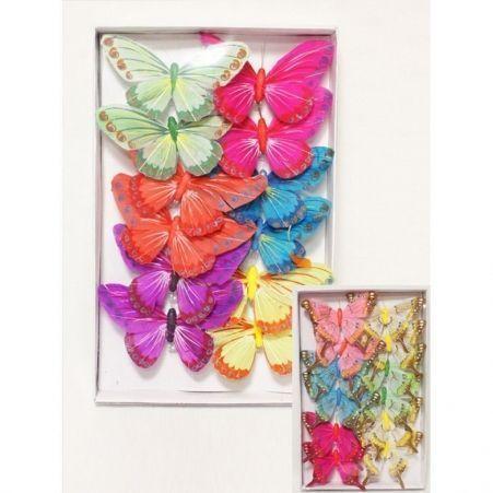 31/2801/18Р(Sale) Бабочка 18 см на клипсе (12шт)