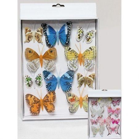 31/8145С(Sale)Бабочка микс 5/8 см на клипсе (10шт/уп)