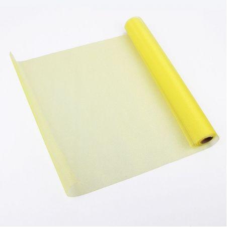 Органза(Sale) 36-40см*9м(жёлтая) (L)