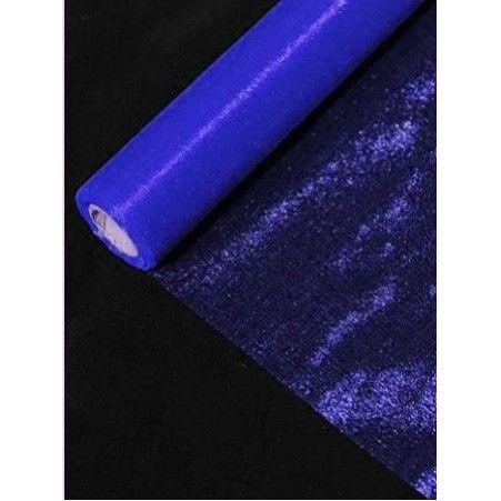 Органза(Sale) 36-40см*9м(синяя) (L)