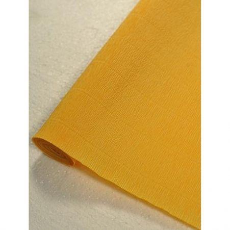 576 Гофробумага  50*250 см ( светло-оранжевая )